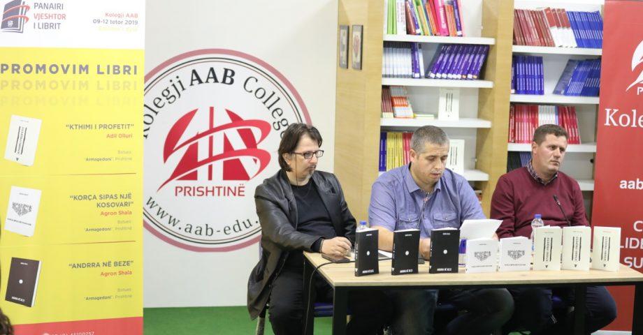 """U promovuan tre libra të rinj, botime të Shtëpisë Botuese """"Armagedoni"""""""
