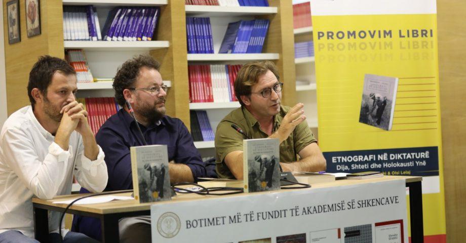 """U promovua libri """"Etnografia në diktaturë. Dija, shteti dhe holokausti ynë"""", botim i Akademisë së Shkencave të Shqipërisë"""